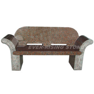 Maple Red Granite Memorial Bench (EMB-003) - China Granite Marble
