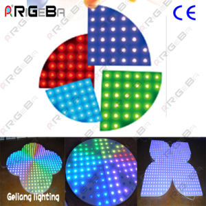 Customized Special Shape LED Digital Dance Floor for Stage Light DJ Nightclub pictures & photos