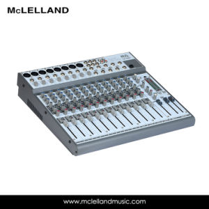 6 Channel Mixing Console with 4 Balance/Unbalanced Mono Line Input (LM-1600) pictures & photos