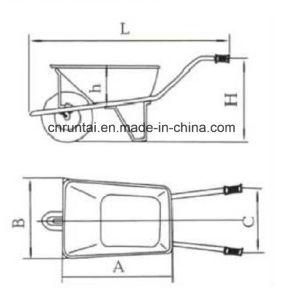 China Strong Gardening Tool Wheelbarrow pictures & photos