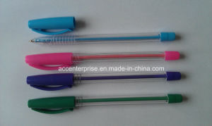colorful Berral Stick Ball Pen with Colorful Pen Cap pictures & photos