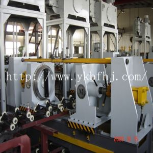 Steel Drum Making Machine Flanging Machine 8PCS/Min pictures & photos