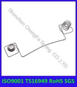 ISO9001 Ts16949 RoHS Compliant Complex Battery Spring