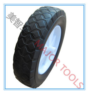 China Top Quality Wheelbarrow Solid Rubber Wheels pictures & photos