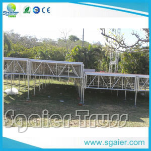 Aluminum Portable Risers Folding Platform Portable Collapsible Stage pictures & photos