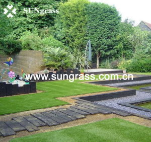 Synthetic Lawn Carpet for Garden or Landscape (SUNQ-HY00024) pictures & photos