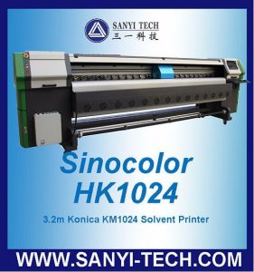 HK1024 Outdoor Banner Printer, with Konica Km1024/42pl Heads, 1440dpi, 160sqm/H pictures & photos