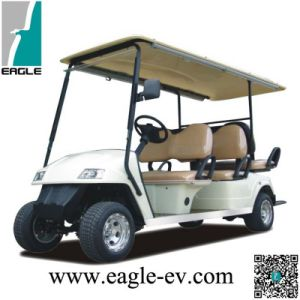China Utility Golf Cart 6 Seater With Flip Flop Seat