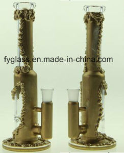 High Quality Copper Plating Glass Water Pipe with Factory Price pictures & photos
