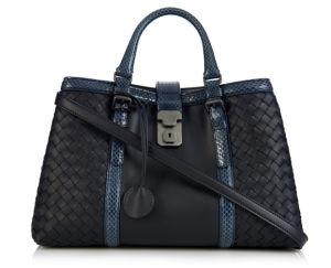 Snake Skin Woven Bagtote Bag Women Handbag (LDO-15471) pictures & photos