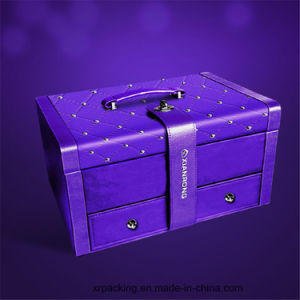 OEM Jewelry Box/Luxury Clamshell Ring /Necklace /Cosmetic Box pictures & photos