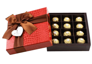 Fancy Chocolate Box /Chocolate Packaging Low Price Jd-CB005 pictures & photos