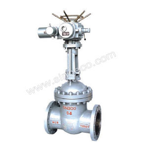 Wcb Electric Actuated Gate Valve pictures & photos