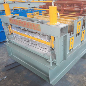 Steel Roof and Wall Panel Double Layer Cold Roll Forming Machine pictures & photos