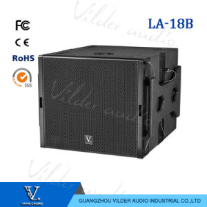La-18b Professional Bass Single 18′′ Speaker Box Line Array Subwoofer pictures & photos