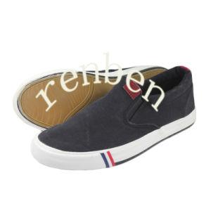 Hot New Sale Style Men′s Canvas Shoes pictures & photos