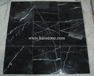 Marble Stone Black Marquina for Flooring, Wall and Vanity pictures & photos