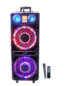 """Double 10"""" Colorful Battery Speaker 633c pictures & photos"""