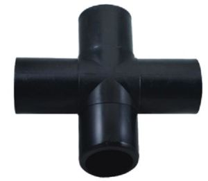 Heat Fusion Cross PE Pipe Fitting pictures & photos