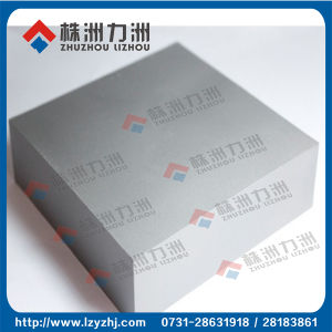 Yg20 Tungsten Carbide Blanks Plate with High Compression Strength pictures & photos