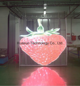 P6 P10 Glass Windows LED Display Screen pictures & photos