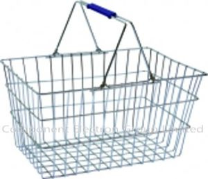 Shopping Basket, Steel Basket, Metal Shoping Basket pictures & photos
