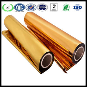 25mic Corona Treated Thermal Laminating Film Metallized BOPP Film pictures & photos