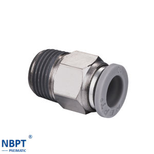 Brass Fittings for Quick Connecting Tube Fittings pictures & photos