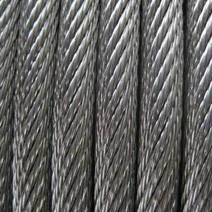 Hot Sale Crane Usage Steel Rope pictures & photos
