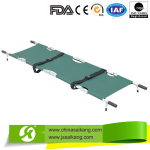 Aluminium Alloy Foldaway Stretcher (CE/FDA) pictures & photos