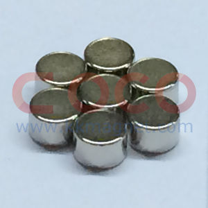 Small Round Neodymium Magnetic Materials with RoHS Approved pictures & photos