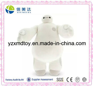 Hot Plush Baymax White Big Hero Robot Cartoon Stuffed Toy pictures & photos