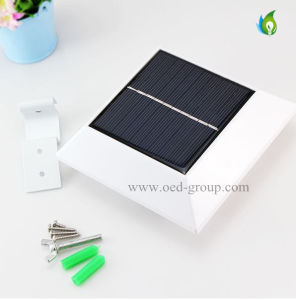 4 LED Solar Power Garden Outdoor Fence Light Lobby Yard Wall Gutter Pathway Lamp pictures & photos