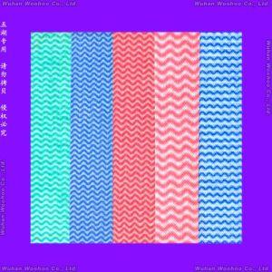 Spunlace Non-Woven Micro-Fiber Cloth pictures & photos