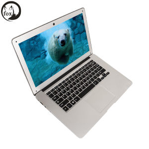 Fox I7 Laptop, 4GB+128GB 14 Inch Ubuntu System Support Windows 10 Intel I7-4500u Dual Core pictures & photos