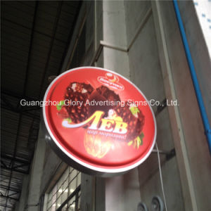 Acrylic Square/Rectangle Thermoforming Light Box Signage pictures & photos