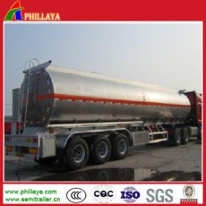 Crude Fuel Storage Tank Truck Semi Trailer Aluminum Liquid Tank pictures & photos