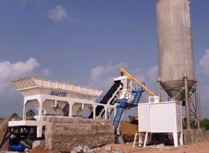 25m3/H Mobile Concrete Batching Plant pictures & photos