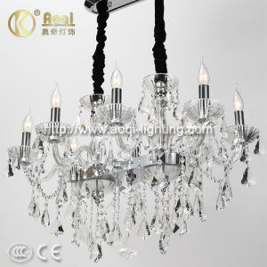 Clear Crystal Pendant Candle Lamp (AQ0305-8) pictures & photos