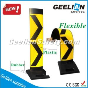 Traffic Safety Plastic Reflective Delineator Panel, Black Base Plastic Road Safety Vertical Panel pictures & photos