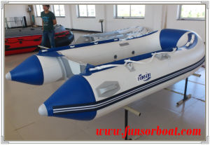 Inflatable Rescue Boat with Plywood Floor (FWS-D290) pictures & photos