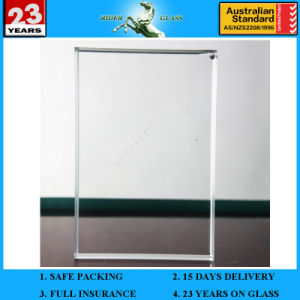 3-19mm Ultra Extra Clear Low Iron Float Glass Sheet pictures & photos