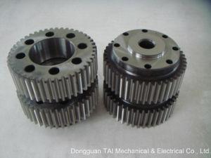 Spur Gear, Straight Teeth with Gear Wheel