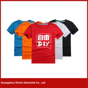 China Factory Cheap Blank Advertising Tee Shirts with Own Logo (R35) pictures & photos