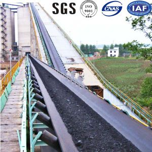 Cement Factory Heat Resistant Rubber Conveyor Belt pictures & photos