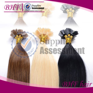 U Ti, I Tip, Flat Tip Italian Glue Human Pre-Bonded Hair Extension pictures & photos
