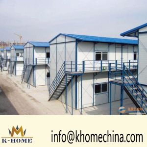 Wonderful Light Steel Prefab House for Construction Sites pictures & photos