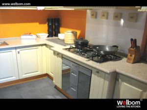 Welbom Best Sell High Quality PVC Kitchen Cabinet pictures & photos