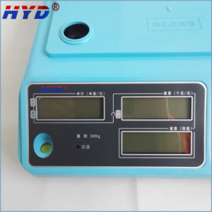 Haiyida Dual Power Table Electronic Scale pictures & photos