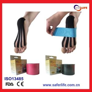 High Quality Physio Therapy Medical Kinesiology Tape for Foot pictures & photos